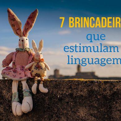 7 Brincadeiras que Estimulam o Desenvolvimento da Linguagem do Bebé