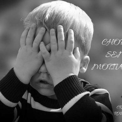 """Choro """"sem motivo""""?!"""