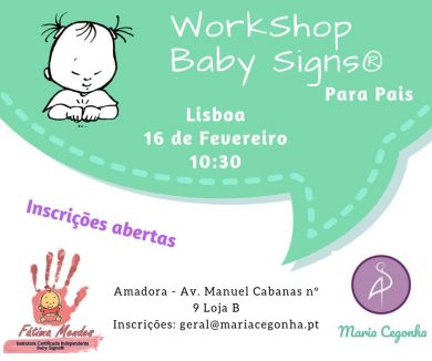 Work Shop Baby Signs® para pais – Amadora