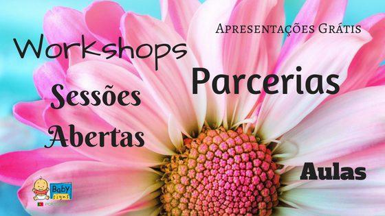 Por onde andam as nossas Instrutoras? – Parcerias e Workshops em Portugal