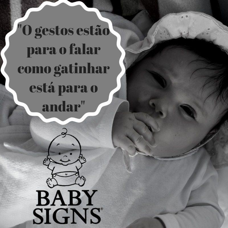 A nossa rotina com o Programa Baby Signs® dos 3 aos 7 meses