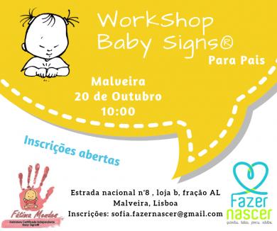 WS Baby Signs® para pais – Malveira