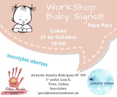 WS Baby Signs® para Pais – Tires – Lisboa