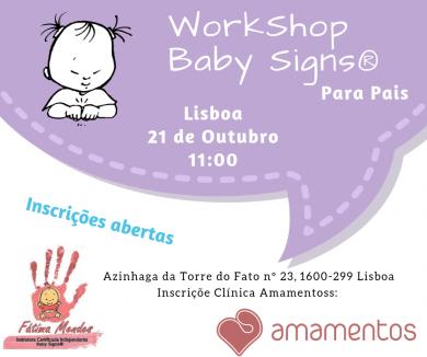 WS Baby Signs® para Pais – Lisboa