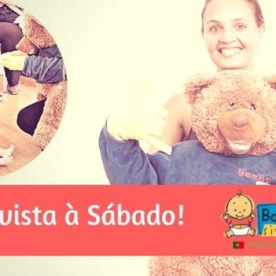 Revista Sábado Entrevista Diretora de Baby Signs Portugal [Link com Oferta de Gestos]