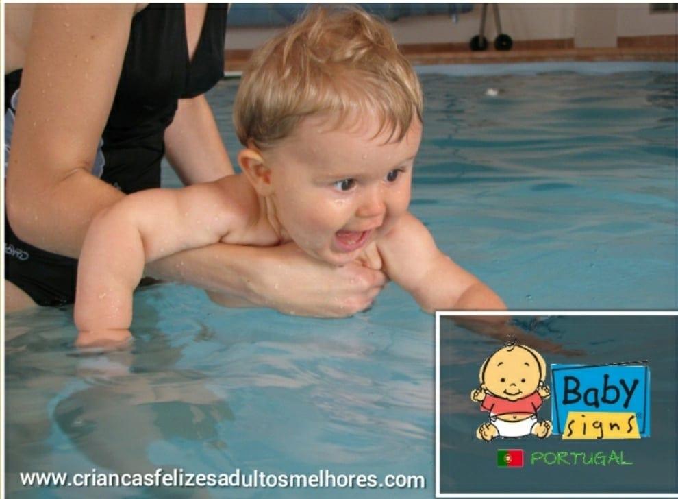 Natação e Programa Baby Signs® o que têm em comum?